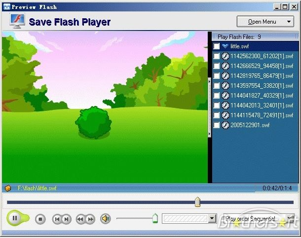 Save Flash Player.