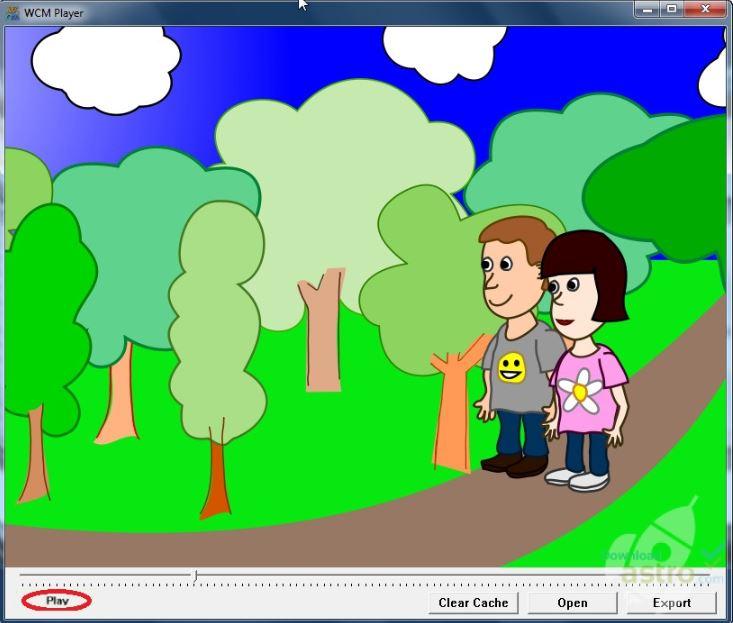 Web Cartoon Maker Player.