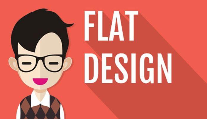 Flat design là gì?
