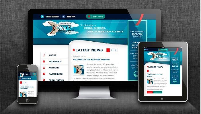 Ứng dụng Flat Design trong thiết kế web.