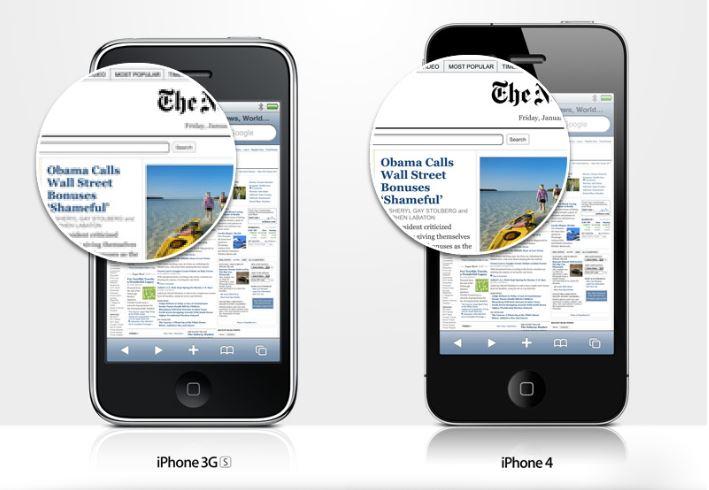 Công nghệ Retina ngày càng phổ biến và xuất hiện nhiều hơn trong các website.