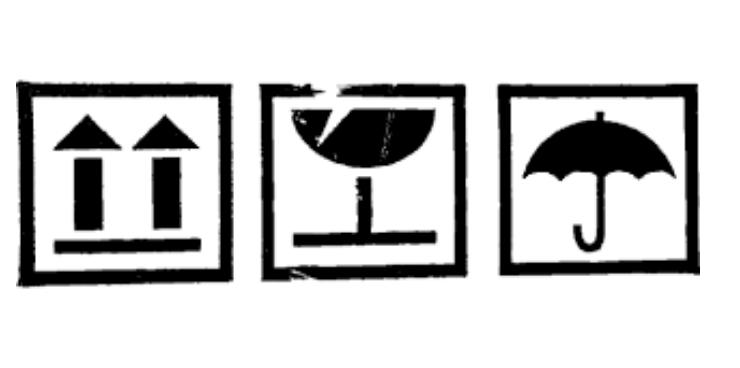 Shipping marks bằng ký hiệu