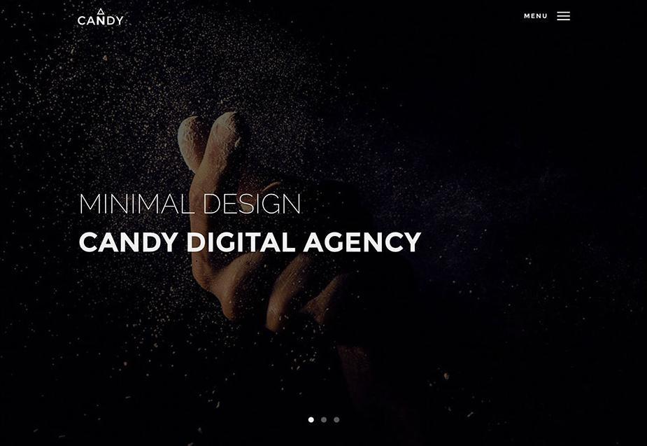 thiết kế website vói wordpress Minimalist