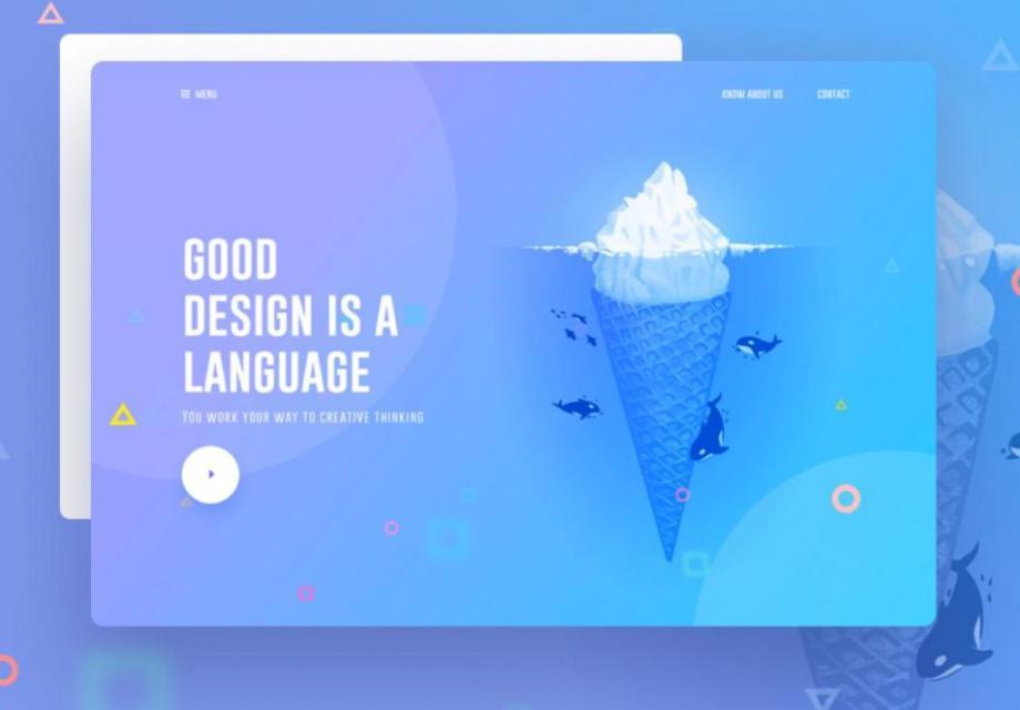 thiết kế website wordpress phối màu dạ quang